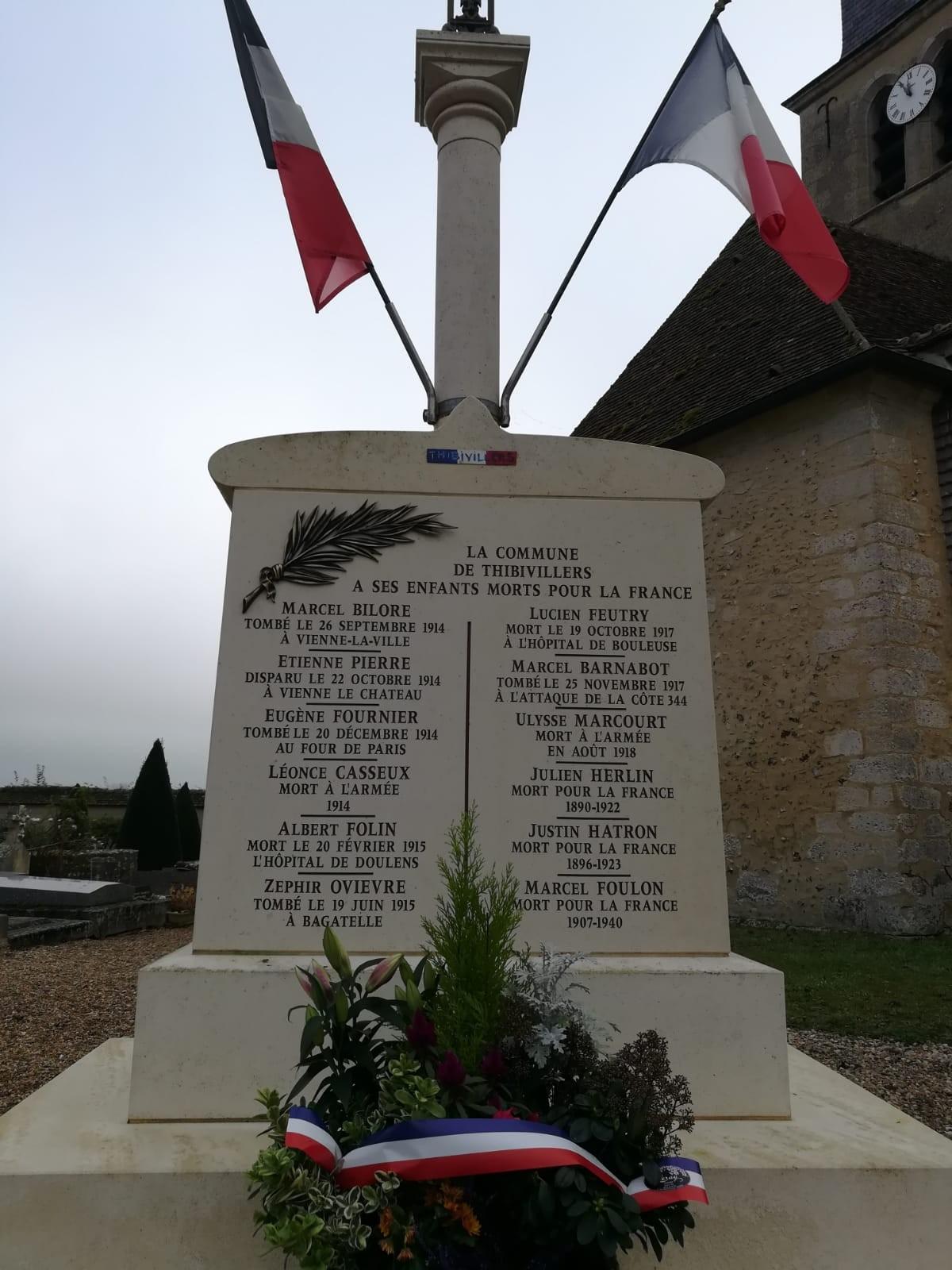 hommage armistice 1918