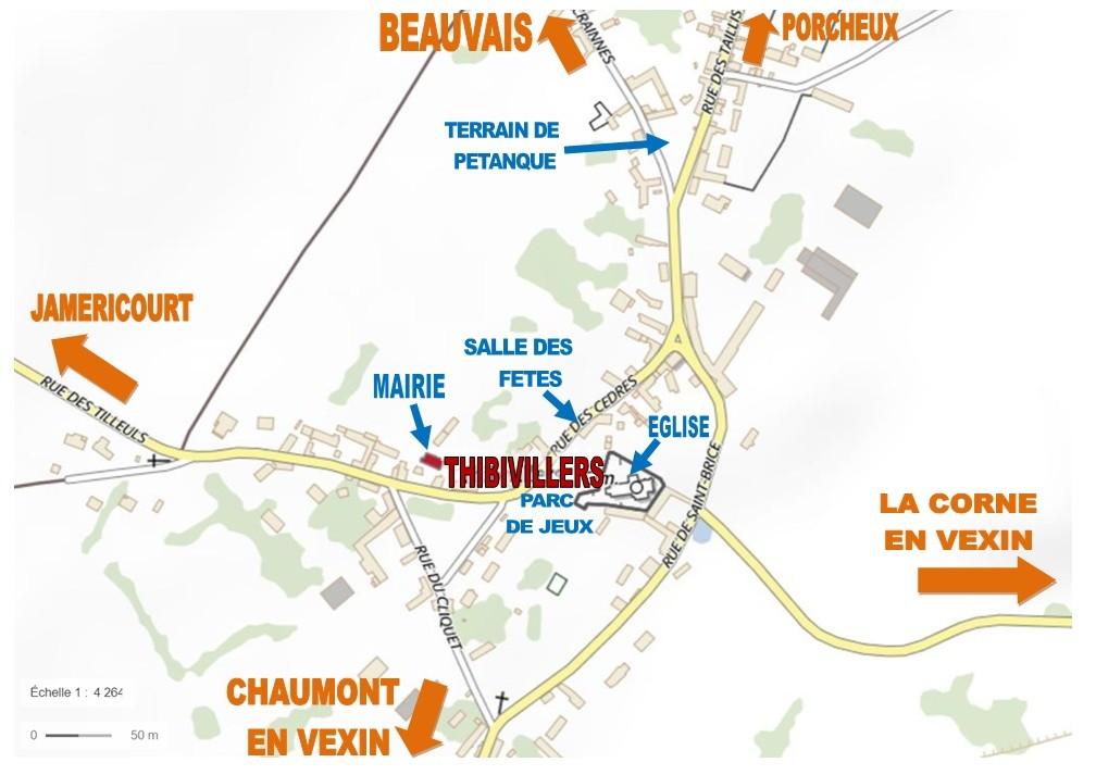 Plan Thibivillers