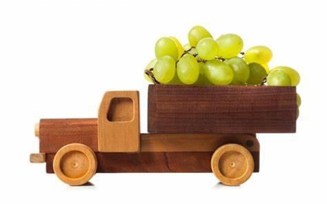 Camion raisin