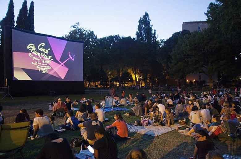 Cinema plein air marseille film