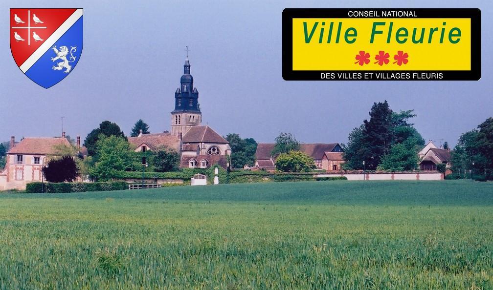 La commune de Thibivillers (60240)